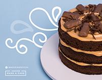 Artes para Facebook | Make a Cake
