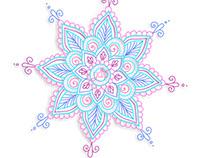 Mandala - Ilustración