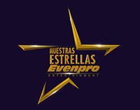 Identidad 3d Nuestras Estrellas Evenpro