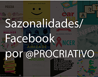 Artes para Facebook / Sazonalidades - @Procriativo
