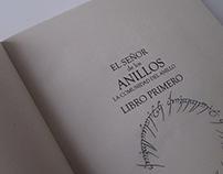 El señor de los anillos - libro objeto