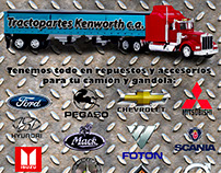 Tractopartes Kenworth c.a