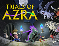 Trials of Azra (VideoGame) - Cover Art!