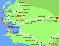 Niterói Subway Map