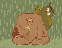 El oso que aprende a leer