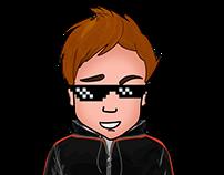 Full Youtube Channel's Art for videoblogger