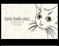 Tarjetas de Presentación - Atenas Román