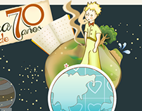 70th anniversary little prince.