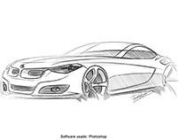 sketch BMW Z4