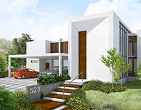 Visualización para proyecto residencial.