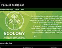 Página web ecológica