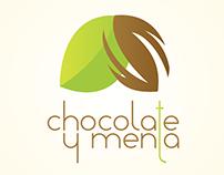 """Diseño de Imagen Corporativa """"Chocolate y menta"""" Chile"""