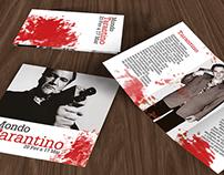 Mondo Tarantino - Folheto + Catalogo