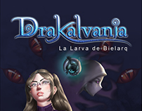Drakalvania The Bielarq Larvae Cover Book