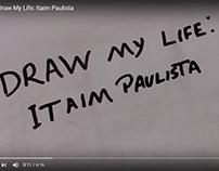 Draw My Life: Itaim Paulista onde participei desenhando