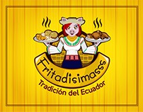 Fritadisimas Logo - Venta de Comida Ecuatoriana