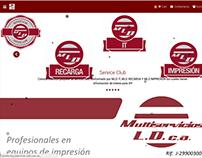 Página Multiservicios LD MLD Page