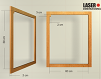 Laser Construcciones Formaletas medidas