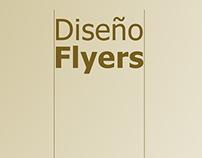 Diseño de Flyers para empresa de Diseño Gráfico.