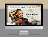 Layout de Website - Teatro Rival