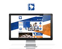 Layout de Site - Colégio  Instituto Brasil