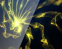 Animaciones Cortas: Explosión Galáctica Amarilla