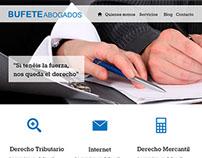 Plantilla para página web de abogados