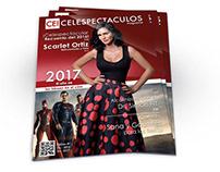 Diseño de revista Celespectaculos