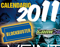 Calendar 20 years of Blockbuster in Mexico