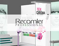 Modelado en 3D del stand para exposhow de Recamier.