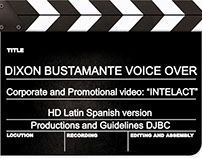 Corporate voice, video Promotional INTELACT PUERTO RICO