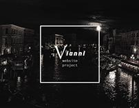 VIANNI - travel agency website