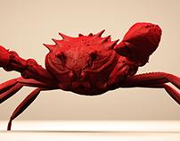 Wip Crab (3D Sculpting)