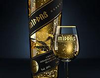 3D - Middas Cachaça   Garrafa \ Bottle