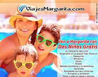 Diseño de Imágenes para Redes Sociales: ViajesMargarita