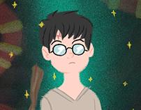 Potter - Ilustration For Kids