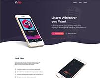 Lebdo - Landing Page Showcase App