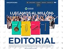 Blog Design / Banco Patagonia