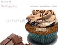 Sitio WEB Nani Cupcakes