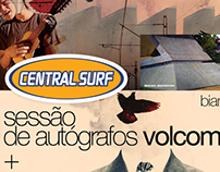 Central Surf - Posters + Logos