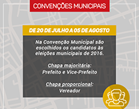 FACEBOOK | PMDB-RS Eleições 2016