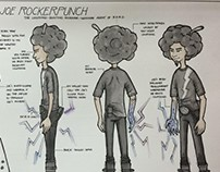 Joe Rockerpunch Character Design