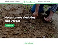 HuertoBosque - Diseño Web