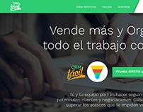 Homepage CRM-FÁCIL