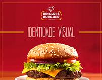Identidade visual Rinaldi's Burguer