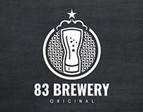 83 BREWERY - LOGOTIPO