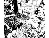Comics and movies lllustrations