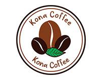 Kona Coffee Logo Design