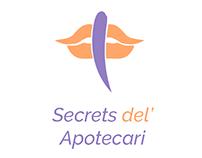 Logo Design: Secrets del' Apotecari