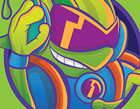 Icon for steam, alien dj